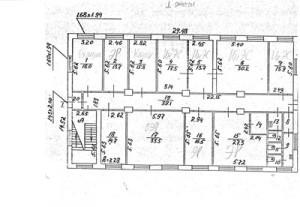Схема БТИ 1 этаж